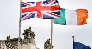 Union Jack flying in front of Government Buildings in Dublin.Photo: Brian O'Leary/RollingNews.ie