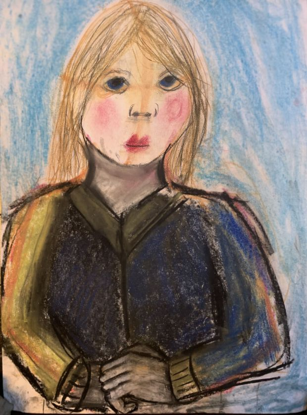 Honor Hehir, aged 10.