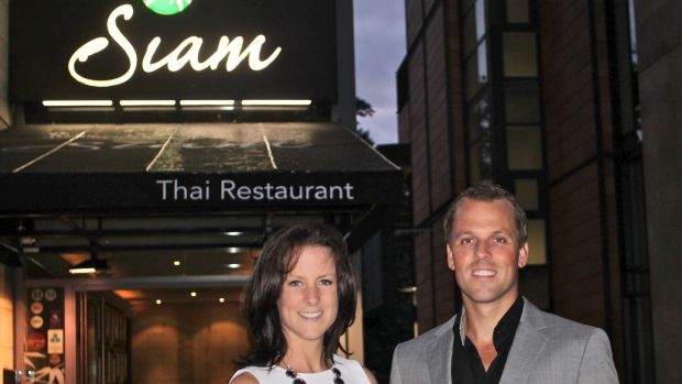 "Eoin and Julie Flanagan at Siam Thai restaurant in Dundrum. Eoin Flanagan says the coming year is ""all about how little we lose"" as it aims to recover next year, coronavirus permitting."