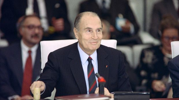 French president Francois Mitterrand: his former doctor was put on trial for breach of professional secrecy, following the publication of a book detailing the Mitterand's metastatic prostate cancer. Photograph: Daniel Janin/AFP