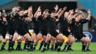 Rugby after Covid-19? Why not have New Zealand on tour in November playing powerful clubs in midweek? Photograph: Inpho