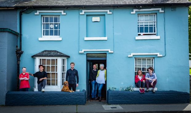 The Purcell family in Dalkey, Co Dublin: Ben, Elias ( Pad'est), Adam, Tony, Val, Molly and Harry.