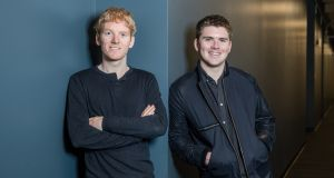 Stripe founders Patrick and John Collins