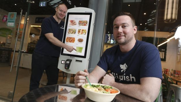Flipdish has positioned itself as an alternative to online fast-food delivery aggregators such as Just Eat and Deliveroo. Photograph: Conor McCabe Photography