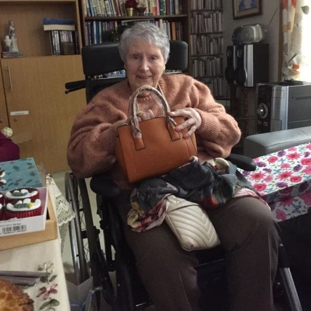 Rose Hegarty, who died in St Mary's Hospital from Covid-19 on Monday, at the age of 84