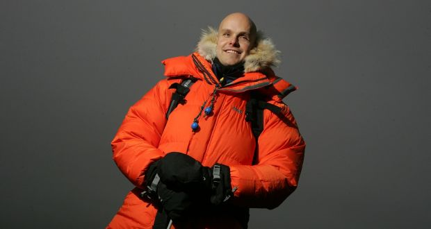 Mark Pollock became the first blind athlete to race to the South Pole in 2009. File photograph: Alan Betson