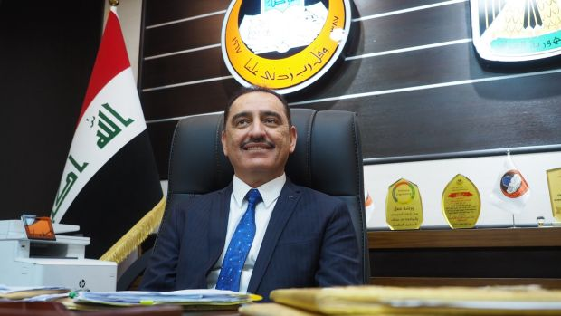 Kossay al-Ahmady, dean of Mosul university, is determined to lead the city back to the light. Photograph: Lorraine Mallinder