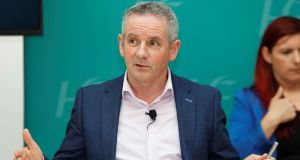 HSE chief executive Paul Reid said occupancy levels in hospitals would have to be limited to 80 per cent – instead of the normal level of over 95 per cent – to allow for safe levels of operation. Photograph: Leon Farrell/Photocall Ireland/PA Wire