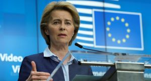 The $8bn target is an initial figure. Ms von der Leyen has said more money will be needed over time. Photograph: Reuters