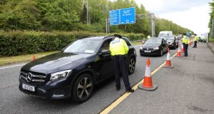 Officers who manned checkpoints in several counties said there was a noticeable increase in traffic. Photograph: Photograph: Rolling News