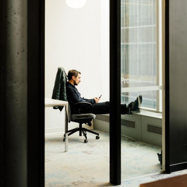 Post-pandemic workplaces: Igor Faletski, chief executive of Mobify. Photograph: Alana Paterson/New York Times