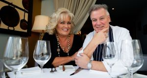 Derry and Sally Anne Clarke at their Baggot Street restaurant, L'Ecrivain. 'We are lucky in the sense that we have a lot of space, we're a big restaurant and we have big tables,' he says.  File photograph: Tom Honan