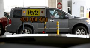 Hertz  has said any recovery to pre-coronavirus levels is dependent on the return of the airline industry