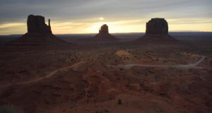 Monument Valley is home to the Navajo Nation, who have been badly affected by coronavirus. Photograph: Eric Baradat/AFP