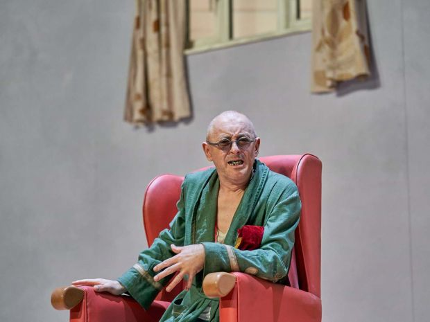 Cumming in Endgame at the Old Vic in London this year. Photograph: Manuel Harlan