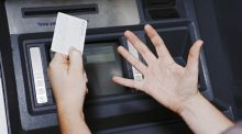 """The ATM made its whirring sound but no cash came out."" Photograph: iStock"