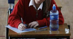 Some  79 per cent of students want the exams to be cancelled and replaced with predicted or estimated grades. Photograph:  Niall Carson/PA Wire
