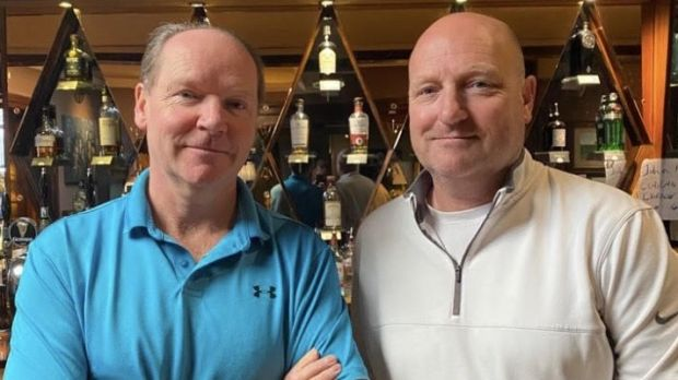 Brothers John and Ciaran Gleeson, owners of Gleesons pub and restaurant in Booterstown, south Dublin.