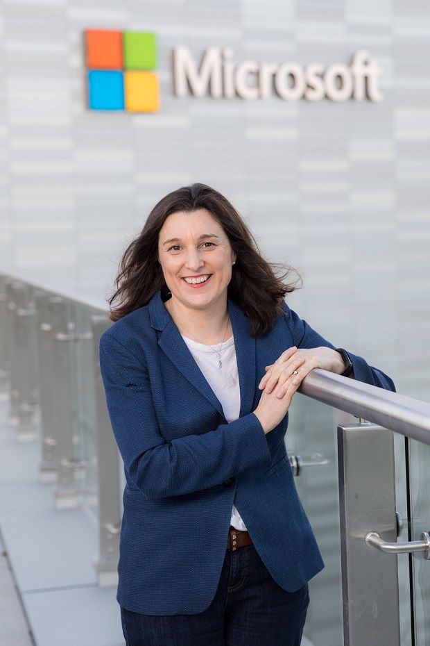 HR director of Microsoft Ireland, Joanne Morrissey