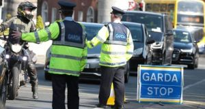 Data from Irish responses  show trust in the Garda is very high, at 7.2, compared to a European average of 6.2. Photograph: Collins