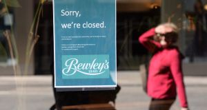 Bewley's on Grafton Street in Dublin: the latest high-profile services business to fail. Photograph:  Dara Mac Dónaill