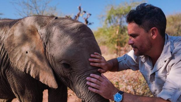 Levison Wood in Walking with Elephants