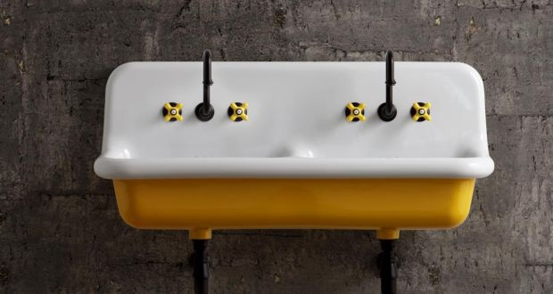 Retro sink available from Tilestyle
