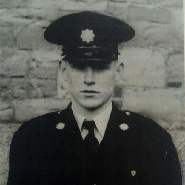 Bernard King: a garda in Dublin from 1953-1980 before finishing his career as chief superintendent in Dún Laoghaire