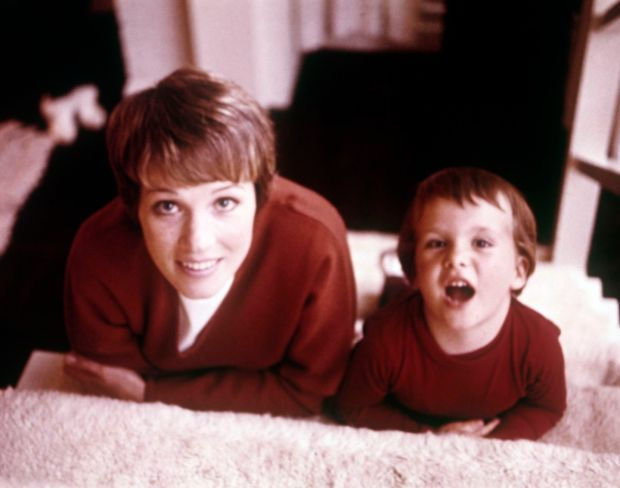 Julie Andrews with her daughter Emma Walton Hamilton in the 1960s. Photograph: Mondadori via Getty