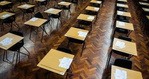 It soon became clear that if the Leaving Cert was to go ahead it would be nothing like the regular exam. Photograph: Getty Images