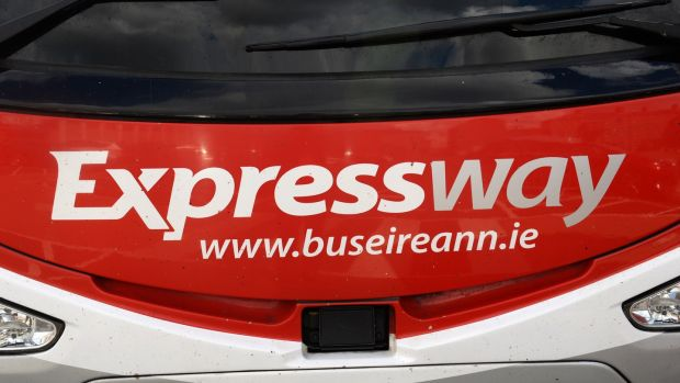 NBRU: 'Bus Éireann's Expressway remained practically the only so-called commercial service which continued to operate amid the Covid-19 crisis.' File photograph: The Irish Times