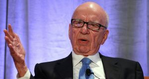 Rupert Murdoch:   between them, Trump and Murdoch have helped to make the US the epicentre of the pandemic. Photograph:  Justin Sullivan/Getty Images
