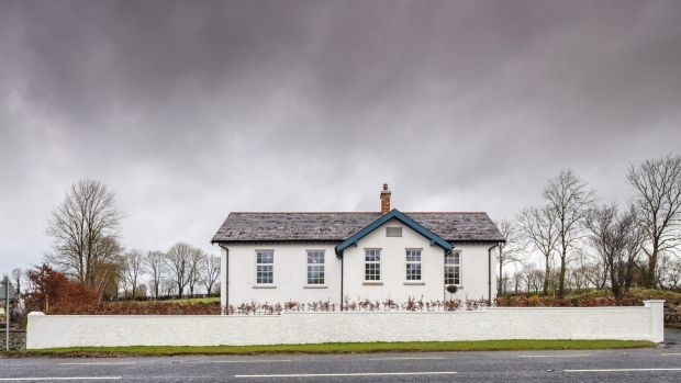 Ronan Fitzpatrick of Craftstudio Architecture in Co Cavan turned his former school into his family home. Photograph: Richard Hatch