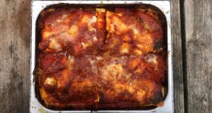 Neapolitan lasagne: this traditional recipe includes ricotta and hard boiled eggs