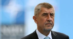 "Czech  prime minister Andrej Babis: ""It's not acceptable – if it's true – for a foreign state to take action against our citizens here."" Photograph:  Getty Images"