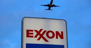 LGIM highlighted Exxon's 'persistent refusal'  to disclose its full carbon footprint. Photograph: Jim Young/Reuters