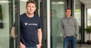 WorkVivo founders John Goulding and Joe Lennon