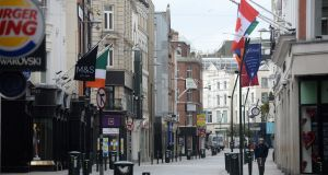 Grafton Street in Dublin's city centre.Photograph: Dara Mac Dónaill