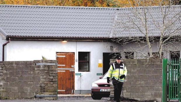 A file relating to a positive test of one of Cian O'Connor's horses was the only think taken in a late night break-in at the Irish Equestrian Federation in Kill. Photograph: Eric Luke