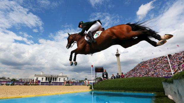 Cian O'Connor riding Blue Loyd at the London Olympics in 2012. Photograph: Alex Livesey/Getty Images