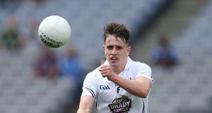 Paul Mescal in action for Kildare during the 2014 Leinster MFC Final. Photograph: Cathal Noonan/Inpho