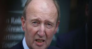 Minister for Transport Shane Ross  called on TDs not to exaggerate the problem of passengers arriving in Ireland unchecked. File photograph: Nick Bradshaw