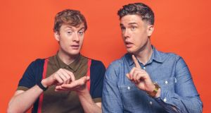 James Acaster and Ed Gamble are co-hosts of the Off Menu podcast. 'Food is something that you can connect over, especially in these divisive times.'