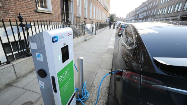 Improving infrastructure including a fast-charging network would be part of the plan for widespread use of electric vehicles. Photograph: Nick Bradshaw