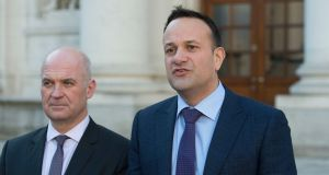 Taoiseach Leo Varadkar, pictured with Chief Medical Officer Dr Tony Holohan. File image: Dave Meehan / The Irish Times