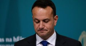 "Taoiseach Leo Varadkar told the Dáil that ""some jobs will cease to exist"" but there would be growth in the green and digital sectors. Photograph: Crispin Rodwell"