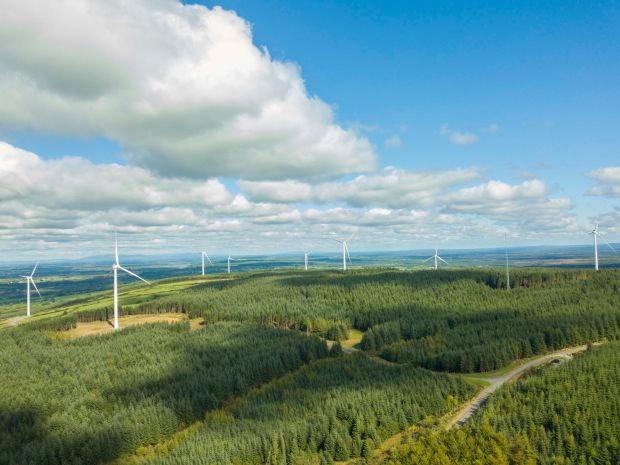 Renewable energy: Ireland will have to take further steps towards cleaner energy sources. Photograph: iStock/Getty
