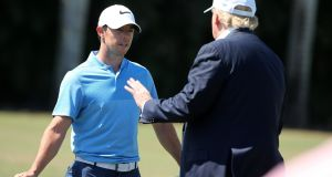 "Rory McIlroy: ""I don't know if he'd want to play with me again after what I just said. But I wouldn't [play with him again].''"