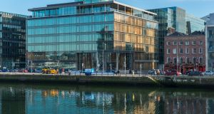 Riverside One extends to 110,000sq ft and is occupied by Irish law firm McCann FitzGerald