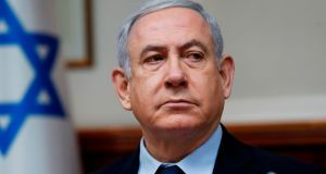 File image of Israeli prime minister Binyamin Netanyahu. File photograph: Ronen Zvulun/AFP via Getty Images